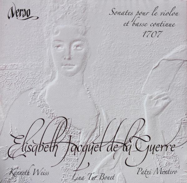 Elisabeth Jacquet de la Guerre- violin sonatas
