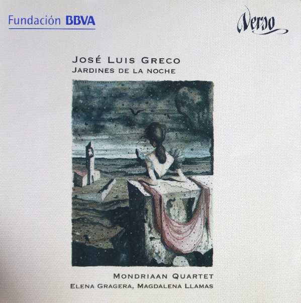 José Luis Greco- works for soprano and string quartet