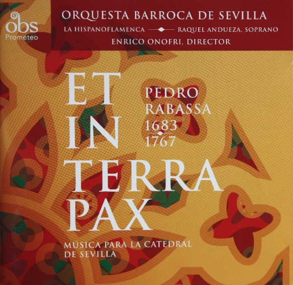 Pedro RABASSA - music for the Seville cathedral (2010)