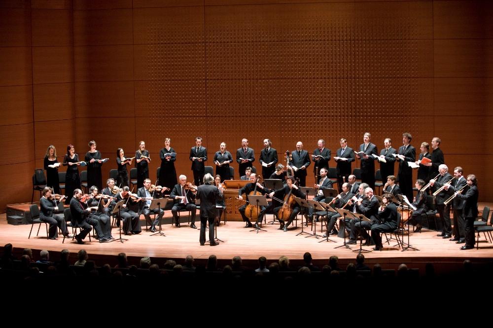 with Collegium Vocale in New York